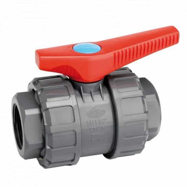 Válvula de PVC con enlace RH-RH-0