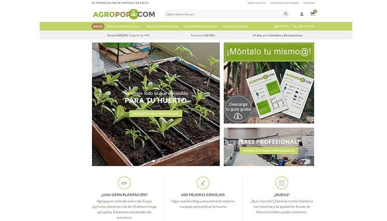b5c412e038 Estrenamos nueva Web! - Agropop TU TIENDA ONLINE DE MATERIAL DE ...