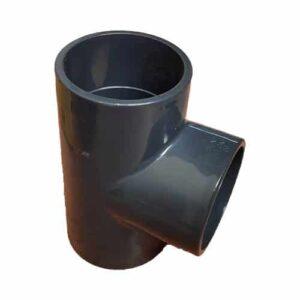 Te PVC encolar para conducciones de agua a presión