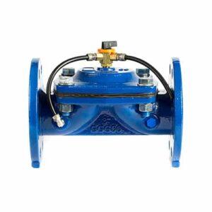 Válvulas hidráulica con mando manual